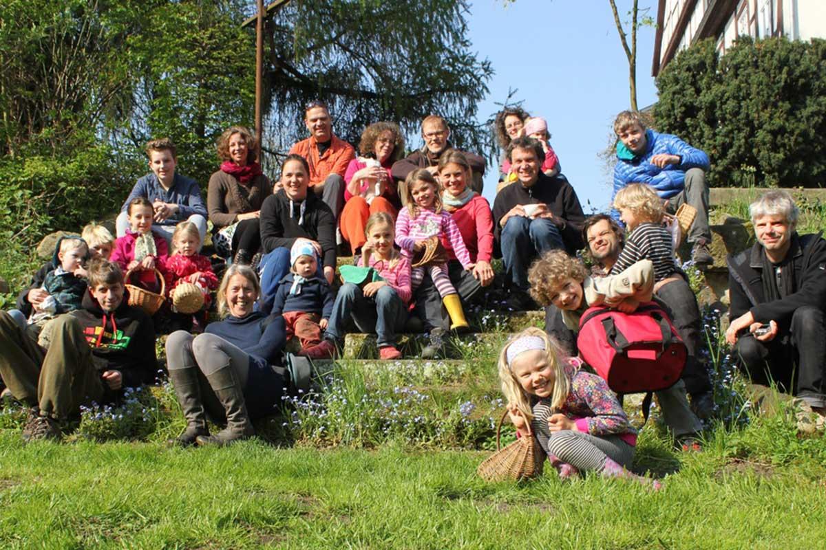Gruppenfoto Ostern
